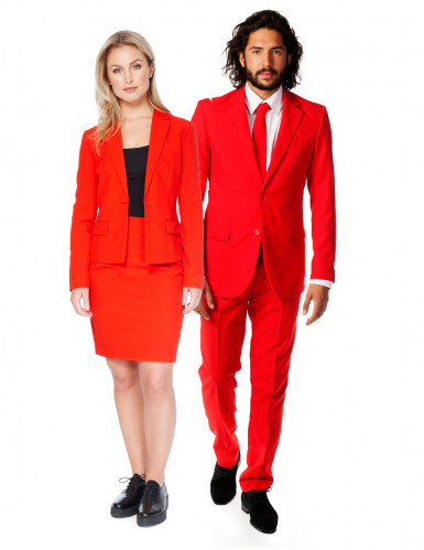 Par jakkesæt Opposuits Red