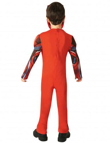 Kostume luksus Power Rangers™ rød til børn - Filmen-2