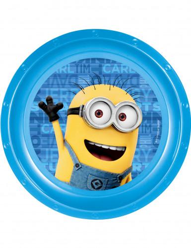 Plastiktallerken Minions™ 21 cm