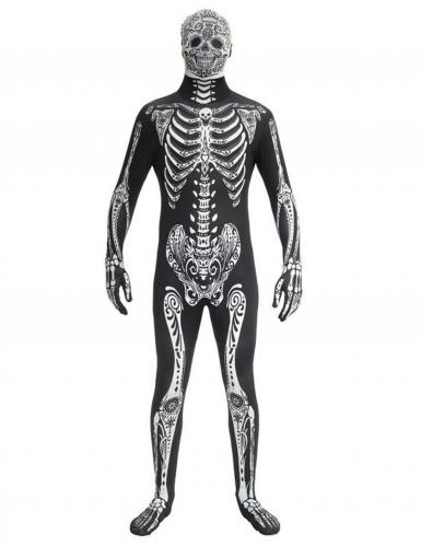 Kostume skelet Morphsuits™ Dia de los Muertos