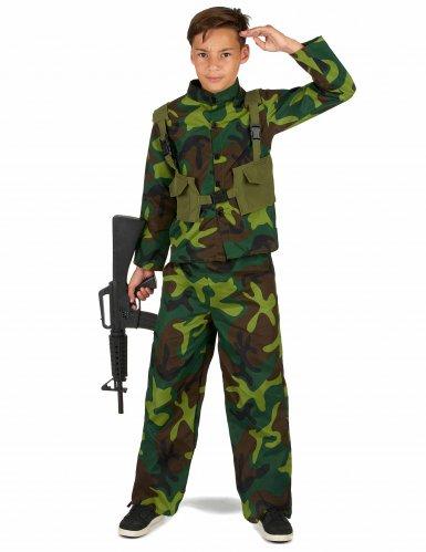 Kostume militær til drenge