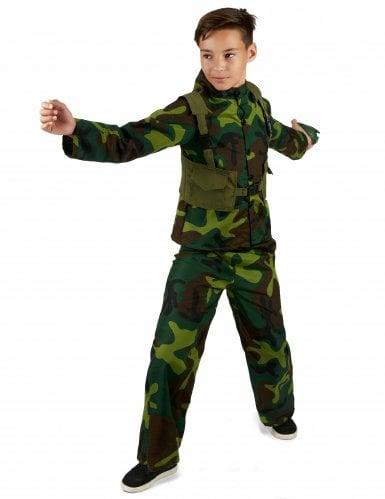 Kostume militær til drenge-1
