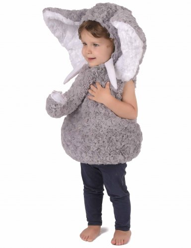 Elefant plyskostume til børn -1