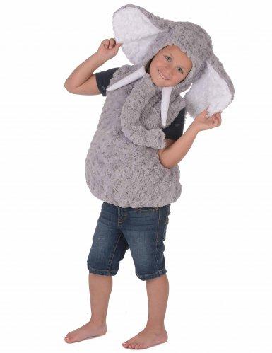 Elefant plyskostume til børn -2