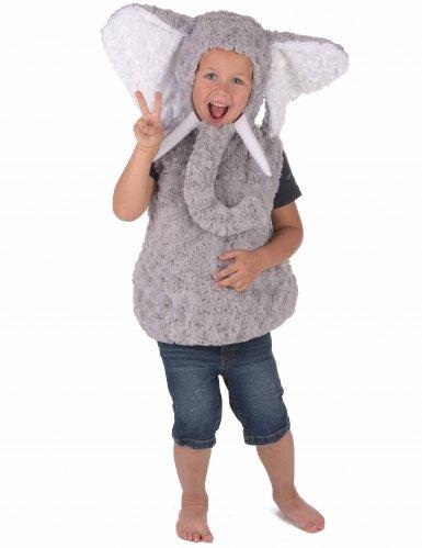 Elefant plyskostume til børn -3