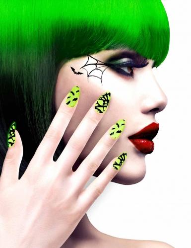 Kunstige negle til voksne - Halloween motiver