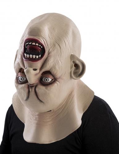 Omvendt monsterhoved - Halloween maske