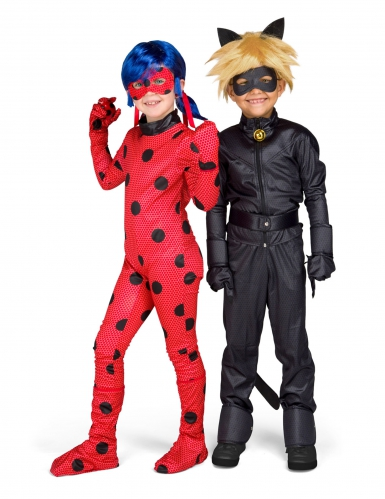 Kostume Cat Noir Miraculous™ til børn-1