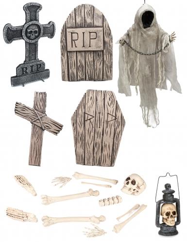 Pakke skelet luksus Halloween