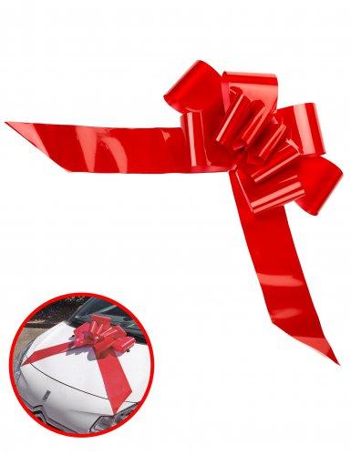 Kæmpe rød sløjfe 15x58 cm