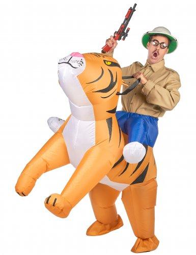 Kostume oppustelig tiger til voksne