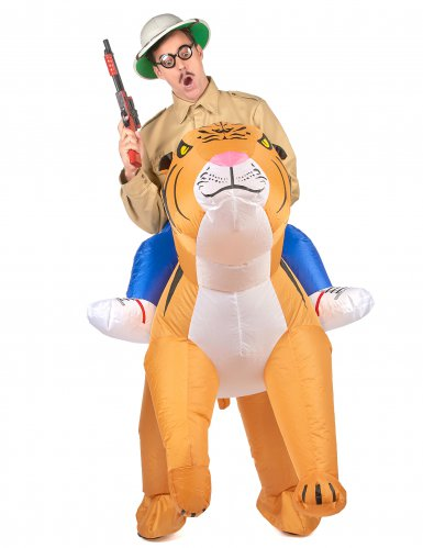 Kostume oppustelig tiger til voksne-1