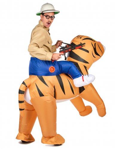 Kostume oppustelig tiger til voksne-2