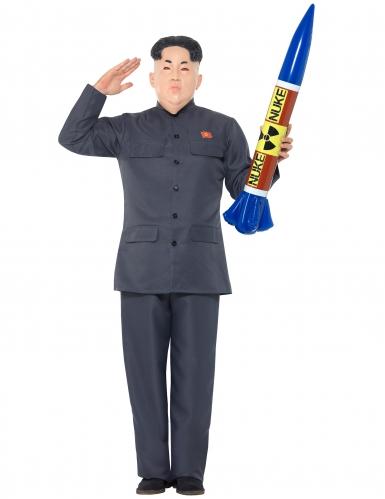 Kostume asiatisk diktator til voksne