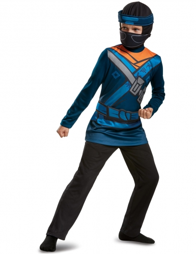 Kostume Jay Ninjago LEGO™ til børn