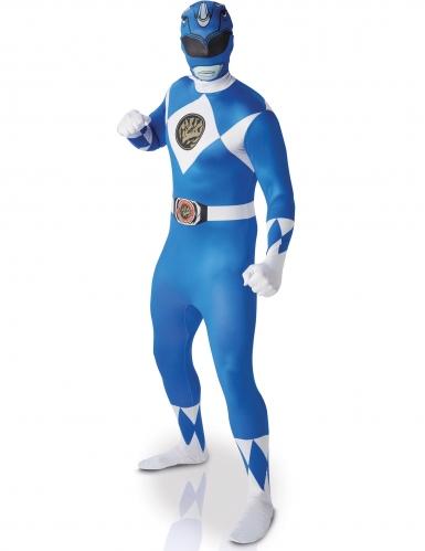 Kostume Power Rangers™ blå til voksne