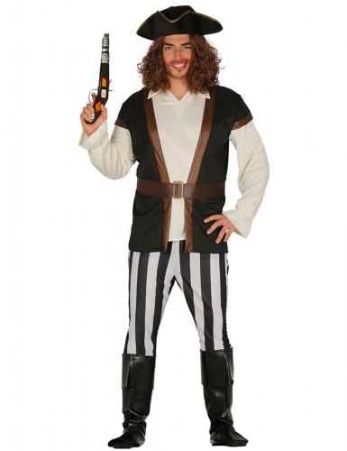 Kostume pirat kaptajn til voksne