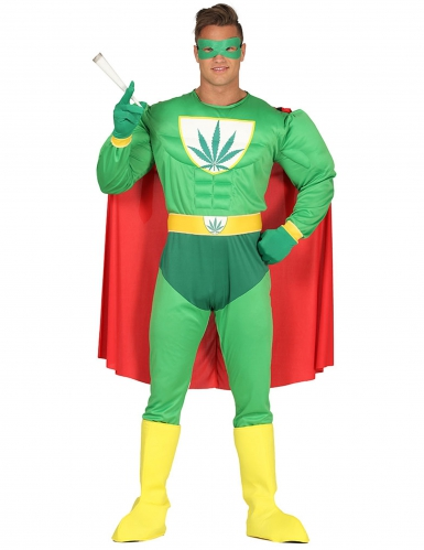 Kostume sjov superhelt