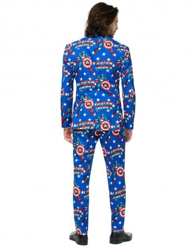 Mr. Captain America™ jakkesæt til voksne - Opposuits™-1