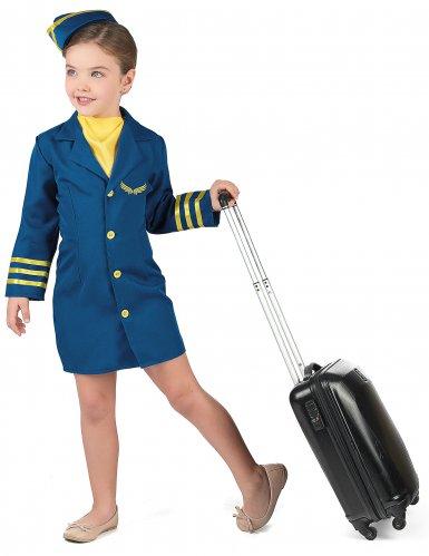 Kostume stewardesse til piger-1