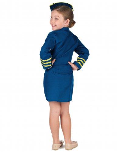 Kostume stewardesse til piger-2