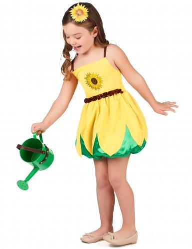 Kostume Solsikke til piger-1