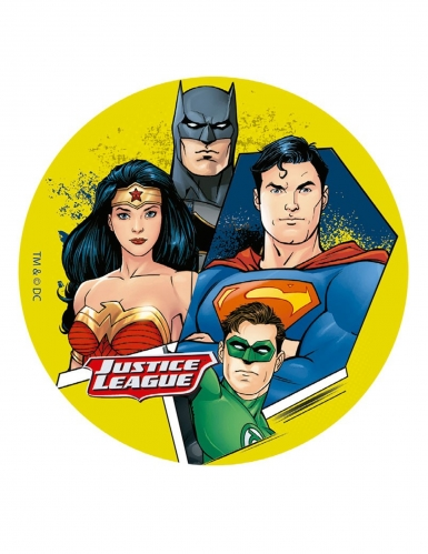Sukkerdekoration Justice League™ 16 cm