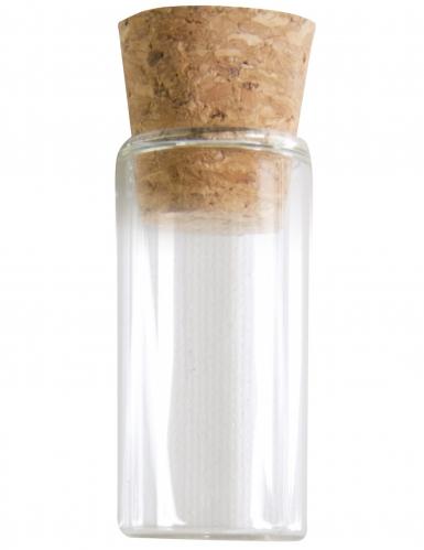 Reagensglas i glas dekoration 5 cm.