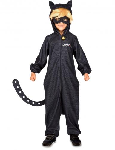 Kostume heldragt Cat Noir fra Miraculous™ til børn