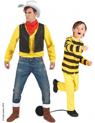 Par kostume Lucky Luke™ og Dalton til far og barn