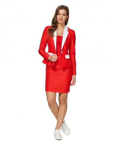Mrs. Santa jakkesæt til kvinder - Suitmeister™
