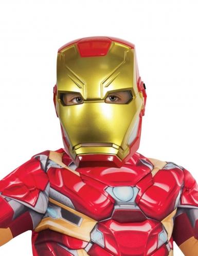 Iron Man™ maske i plastik