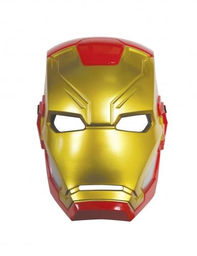 Iron Man™ maske i plastik-1