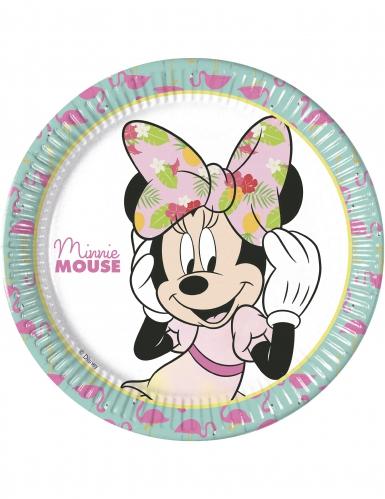 Tropical Minnie™ paptallerkener 8 stk.