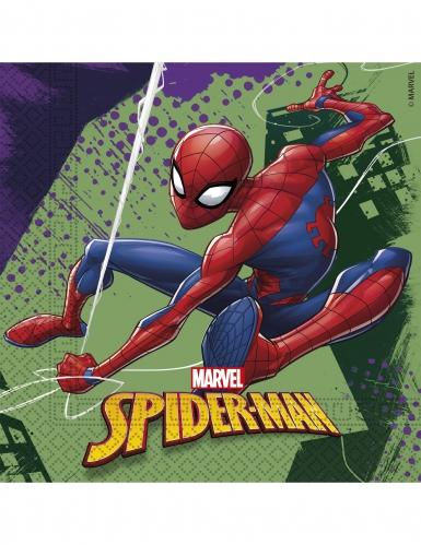 Spider-Man servietter