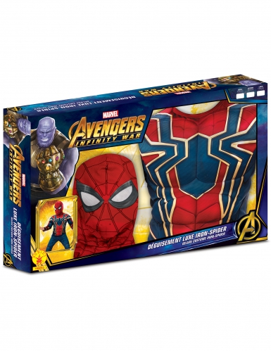 Deluxe Spiderman kostume til børn - Infinity War-1