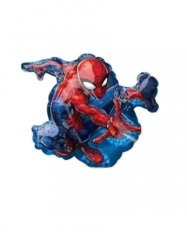 Lille Spiderman™ aluminiumsnballon 17x25cm