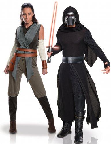 Rey & Kylo Ren parkostume til børn - Star Wars™