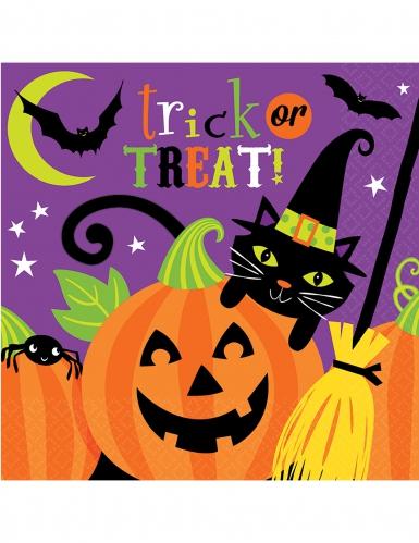 Halloween servietter Family Friendly 8 stk
