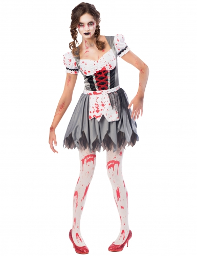Tyroler zombie kostume til kvinder