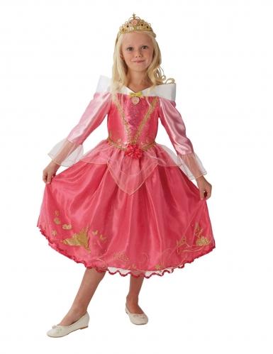 Prinsesse Tornerose™ kostume med krone - pige-1