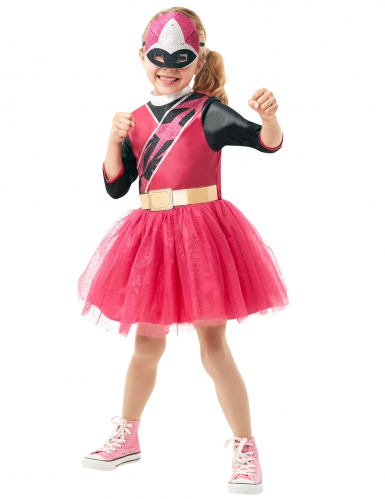 Klassisk lyserødt Power Rangers Ninja Steel™ kostume til piger