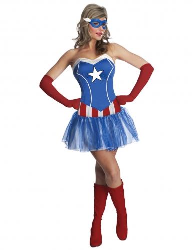 Kostume kjole skørt Miss America™ kvinde