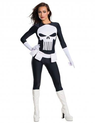 The punisher ™ kostume til kvinder