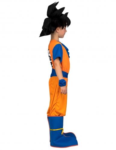 Goku kostume med paryk til børn - Dragon Ball™-1