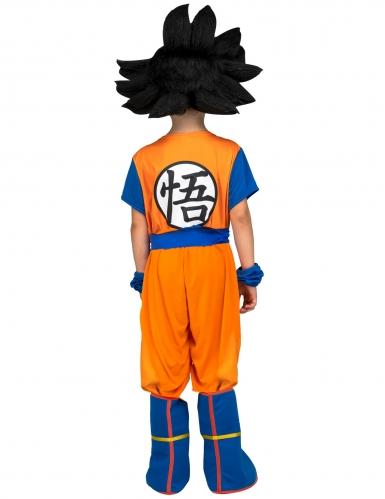 Goku kostume med paryk til børn - Dragon Ball™-2