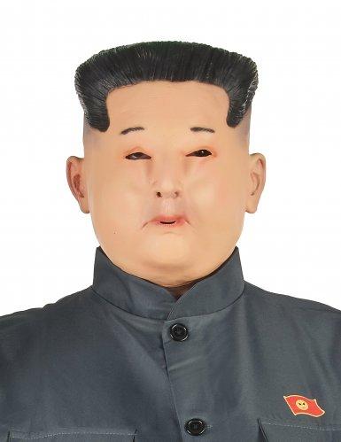 Koreansk diktator latex maske til voksne