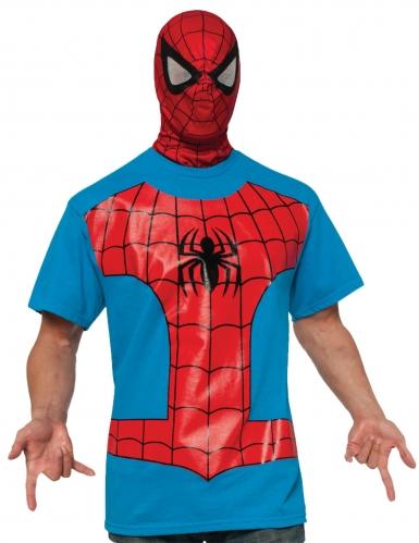 Spiderman™ T-shirt og maske til voksne