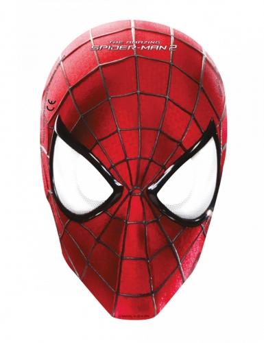 6 stk papmasker med Spiderman - The Amazing Spidrman™