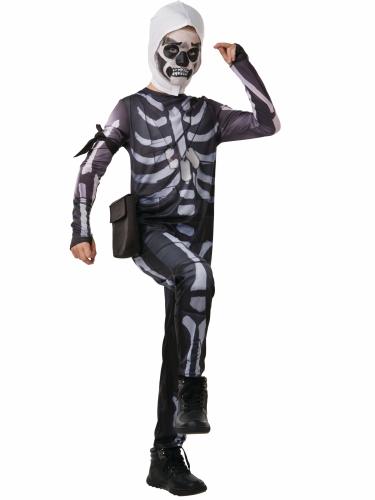 Skull Trooper Fortnite™ kostume til teenagere-1
